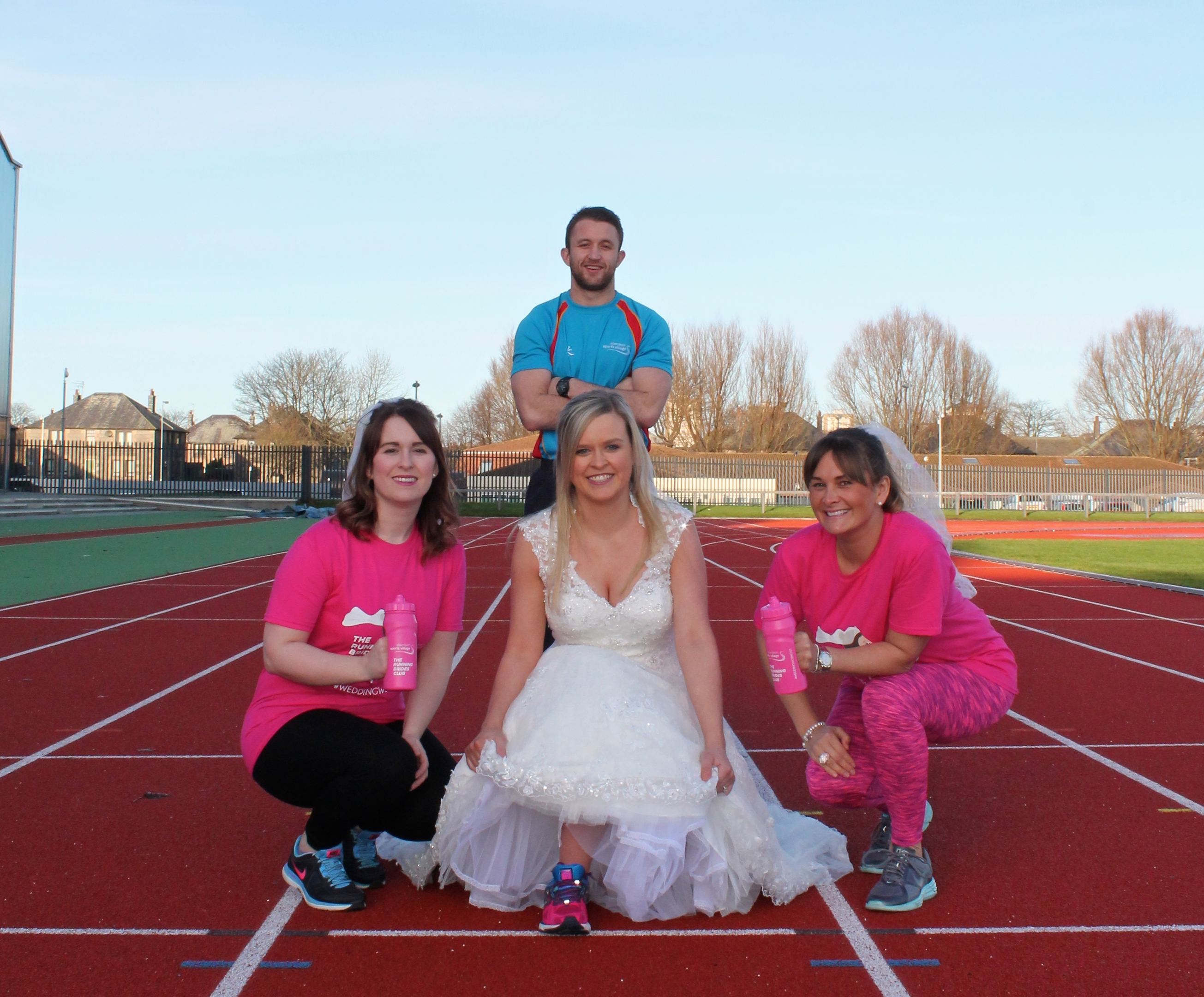 The launch of the running brides club