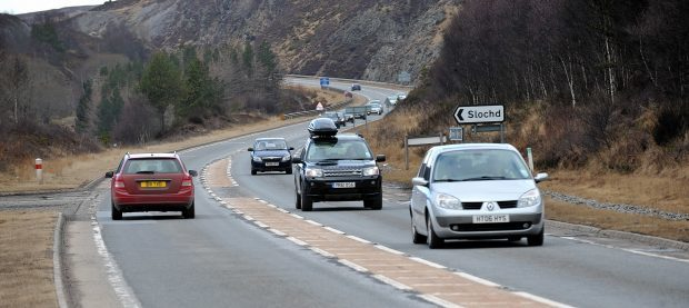 Resurfacing work is due to start later this week on the A9 at Slochd