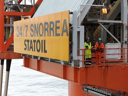 Statoil has moved workers as hurrican-force winds are expected