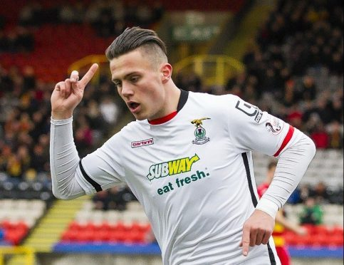 Miles Storey spent this season on loan at Caley Thistle