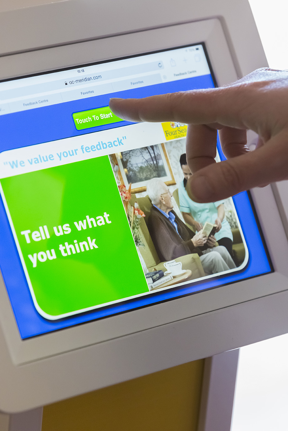 Technology allows residents to give instant feedback