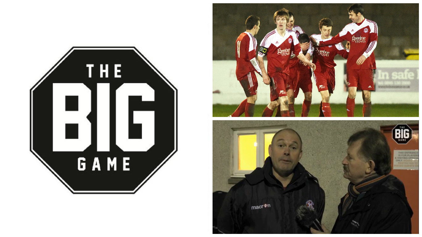 Dave Edwards presents the best of the action between Lossiemouth and Strathspey