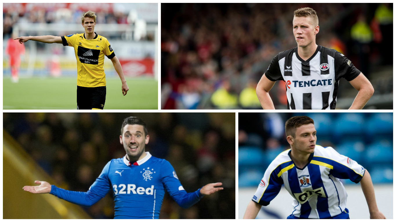 Ajer and Weghorst have been linked with moves to Celtic, while Clark could be leaving Rangers and Kilmarnock are desperate to hold onto Kiltie