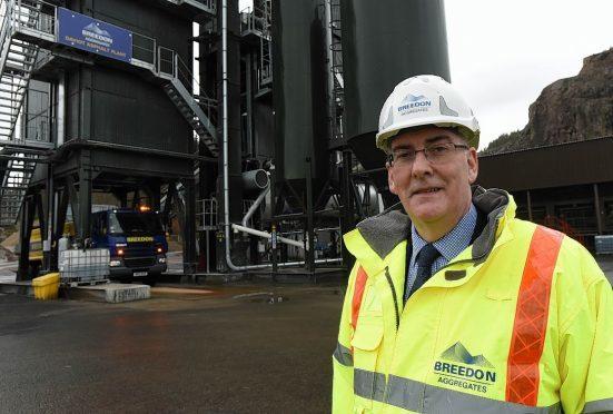 Alan Mackenzie, CEO of Breedon Aggregates Scotland.
