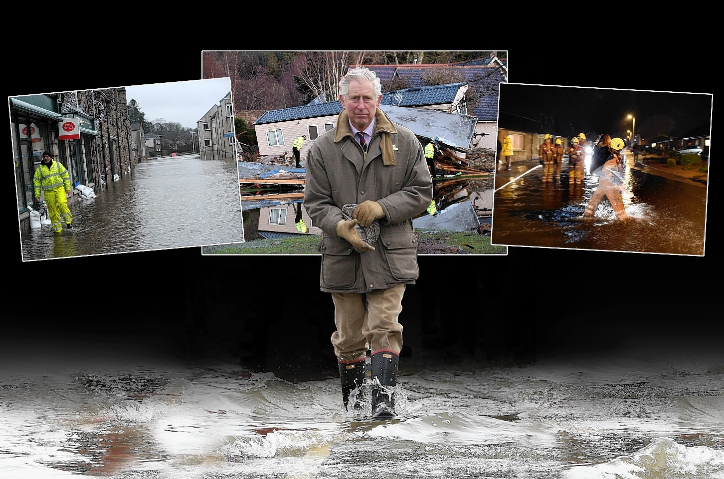 Prince Charles is currently staying at Birkhall on Deeside
