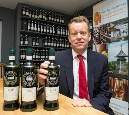 CEO of The Scotch Whisky Association David Frost.