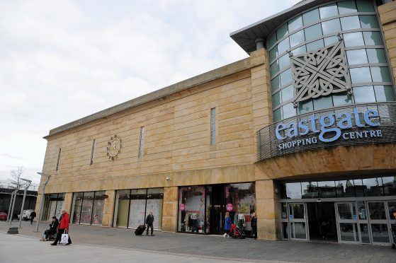 Eastgate Shopping Centre in Inverness.