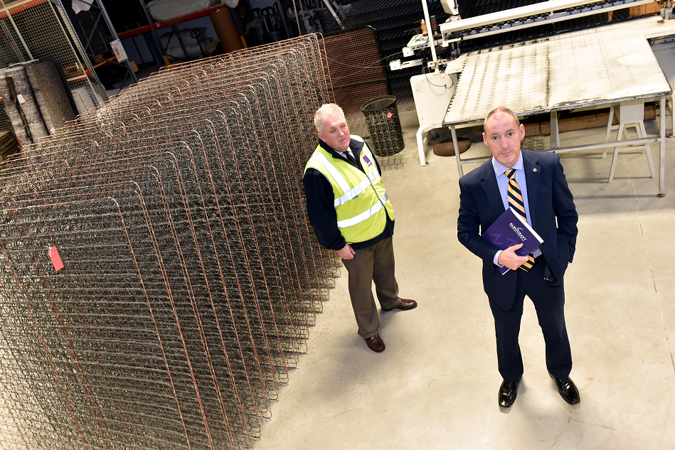 Glencraft at Whitemyres Avenue, Aberdeen. MD Graham McWilliam (right) with Operations Manager Andrew Laing.