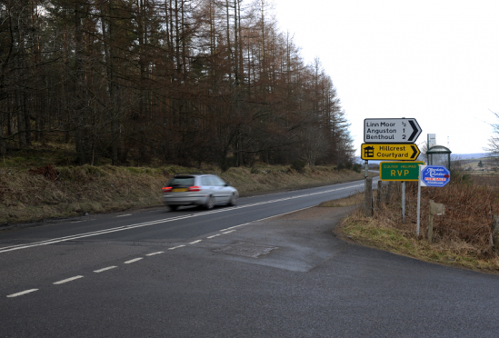 Road safety is a key issue for those in the Deeside community