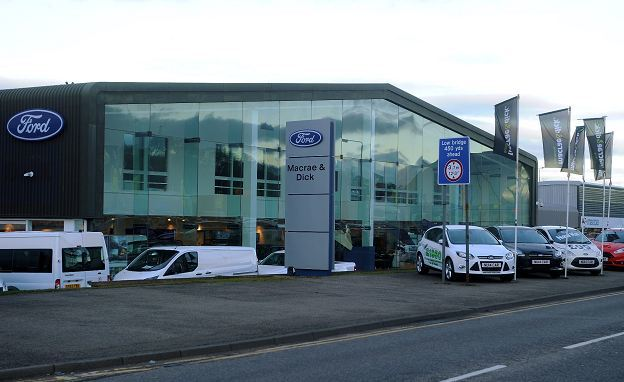 Macrae and Dick's Inverness branch