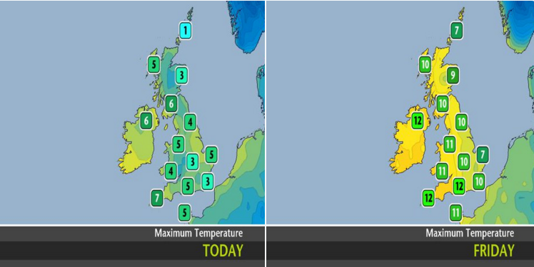 The Met Office's forecast