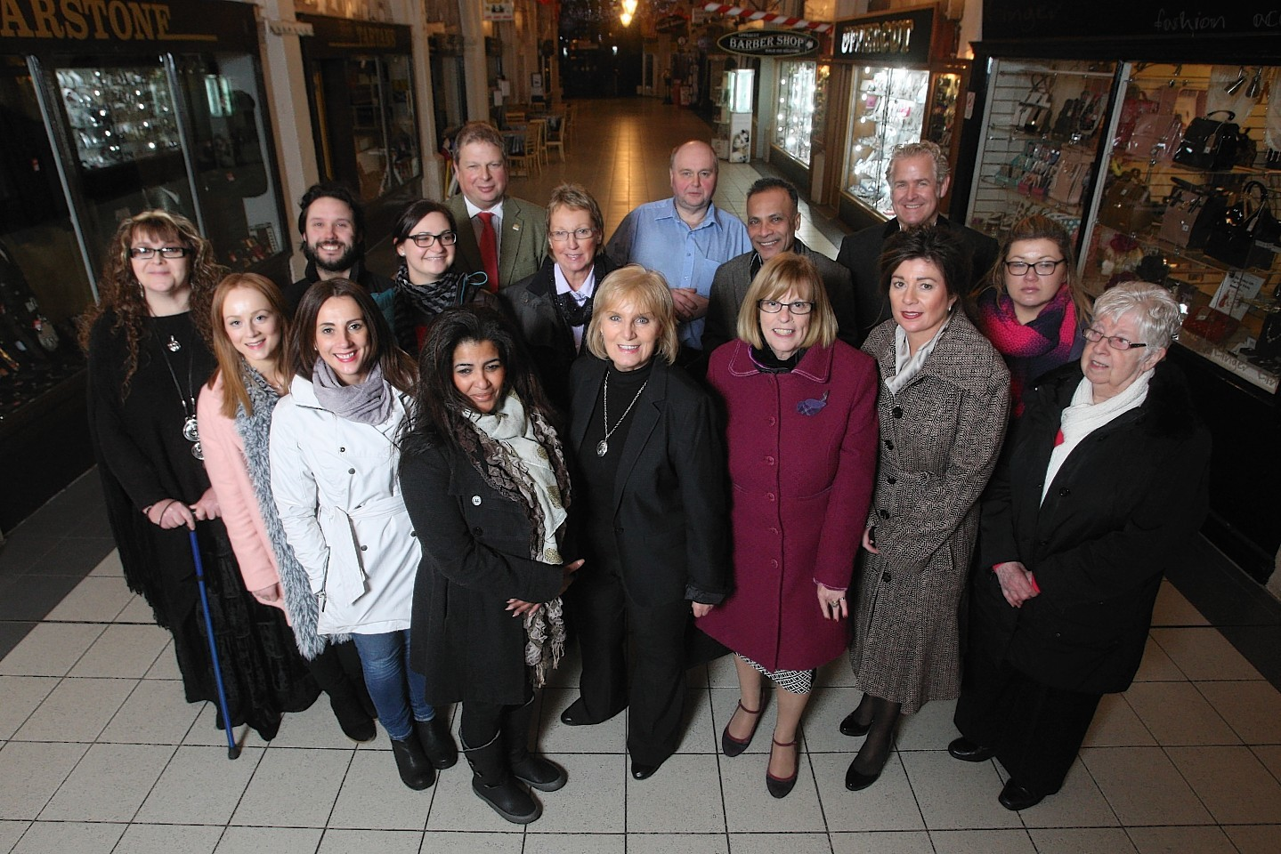 Victorian Market traders met with Inverness city manager David Haas
