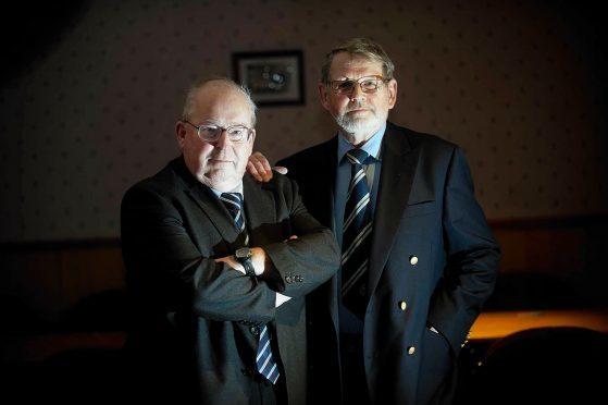 Rod Houston, left, will replace John Grant, right.