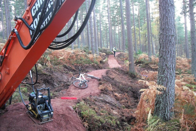 Forest Enterprise Scotland was due to open the facility later this month