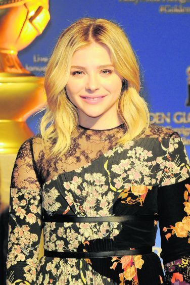 Chloe Grace Moretz at  the 73rd annual Golden Globe Awards nominations