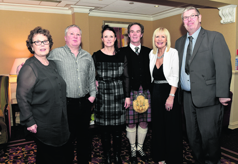 Matilda Farman, Ian Miller, Julie Edgar, Garry Edgar, Lynn Edgar and Paul McMenemy