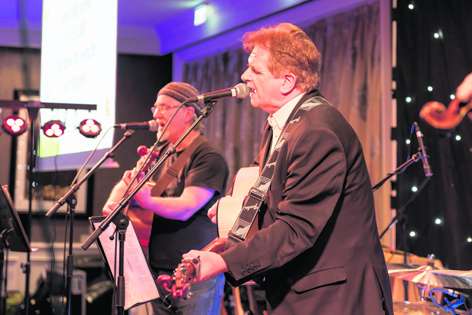 Donnie Munro performing at ARCHIE's Burns Supper