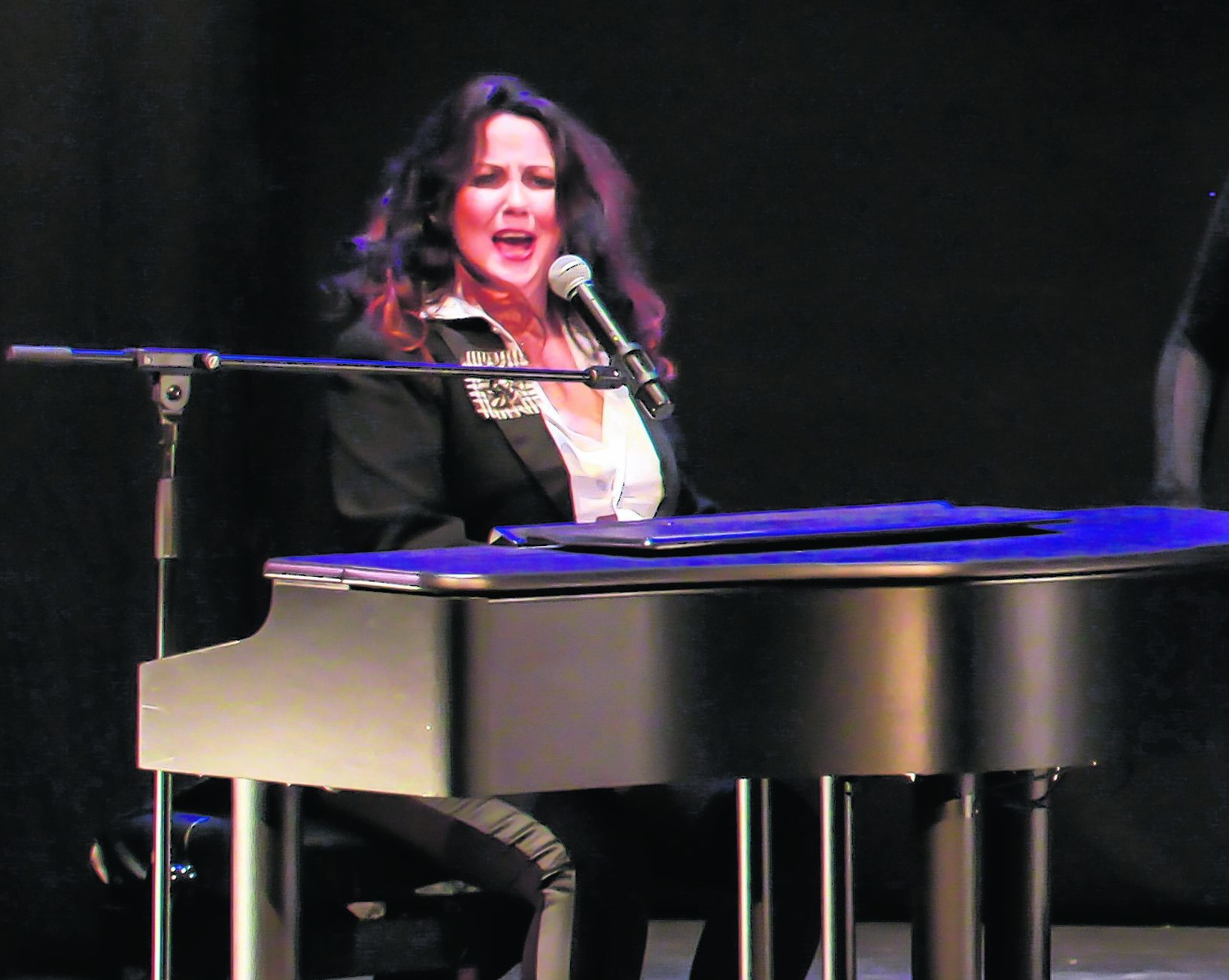 Tish Tindall developed the idea for Robert Burns The Musical with David Gest
