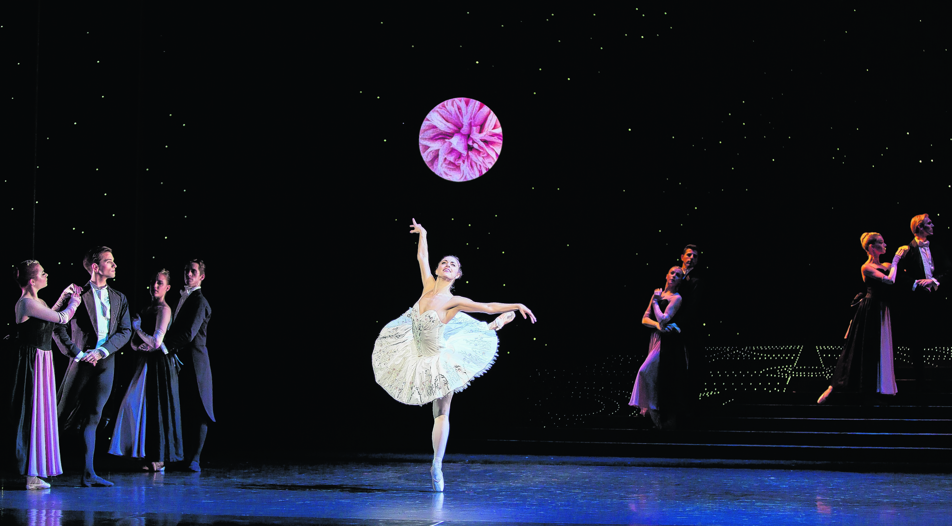 Bethany Kingsley-Garner performing as Cinderella. PHOTOS: Andy Ross