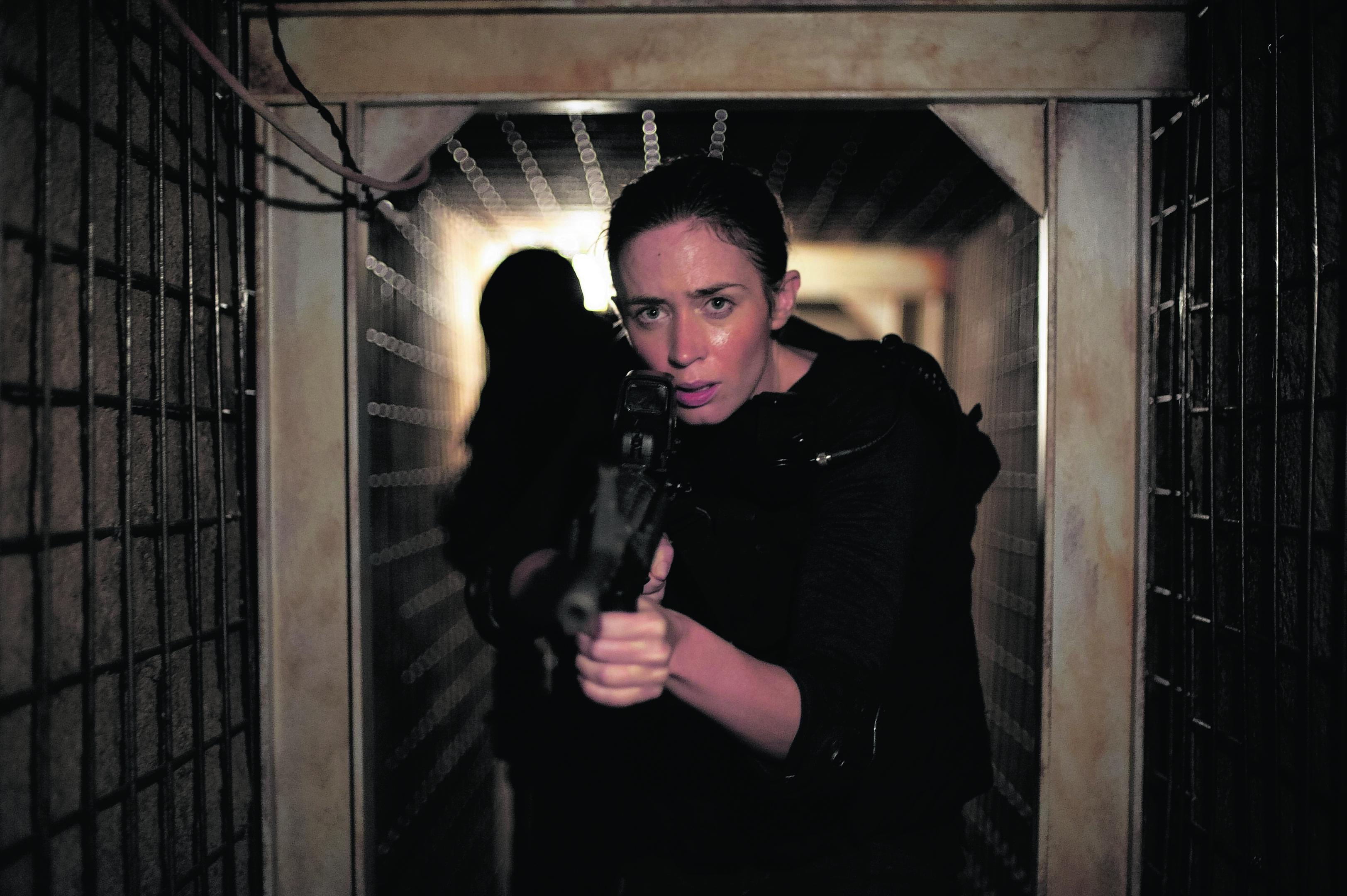 Emily Blunt as Kate Macer in tense thriller Sicario