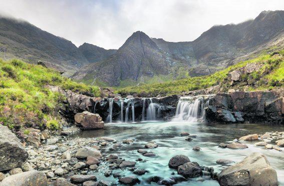 The Fairy Pools, Skye