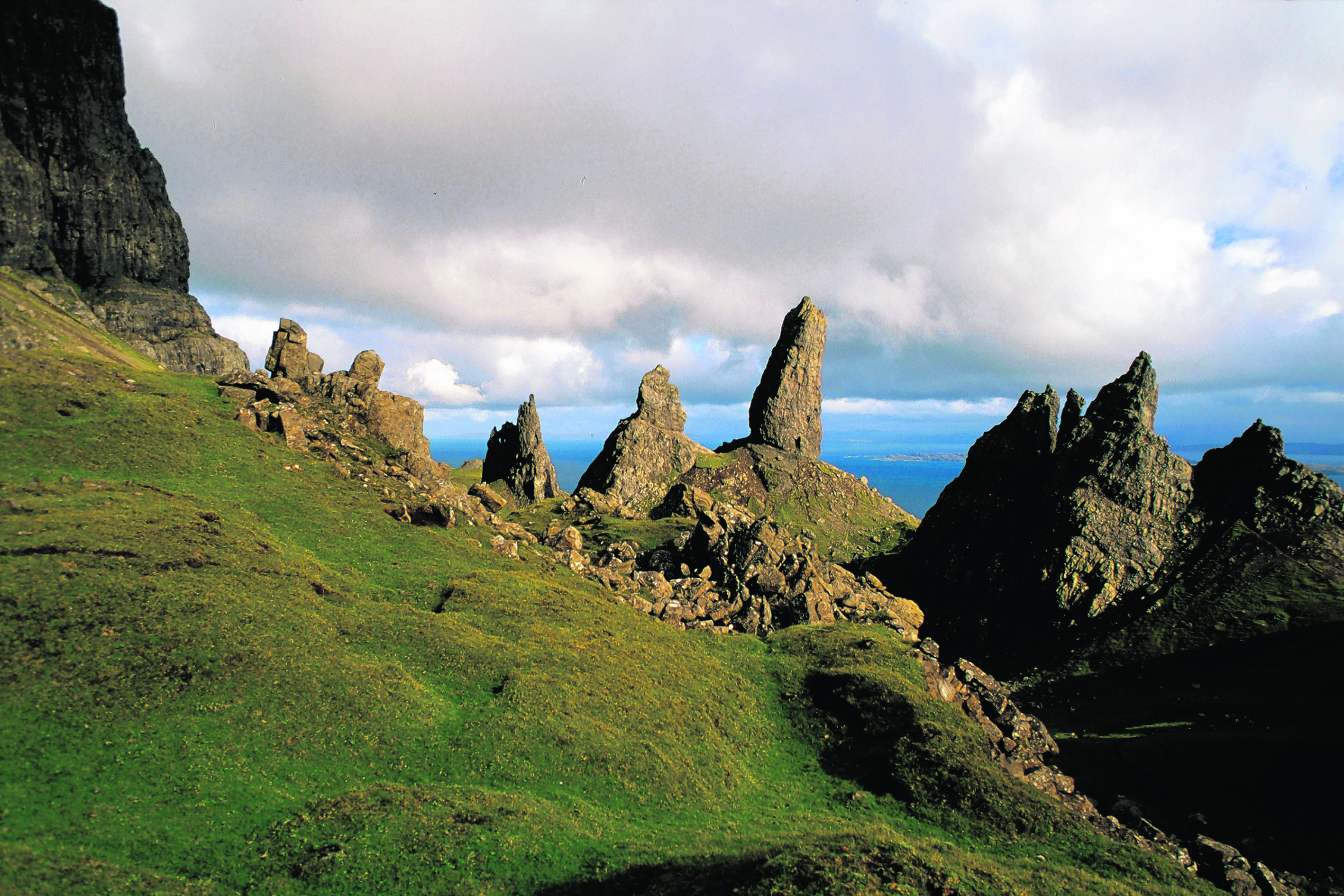 Scenes of famed motion pictures and music videos have been short in the north of Skye, prompting the community to seek something back