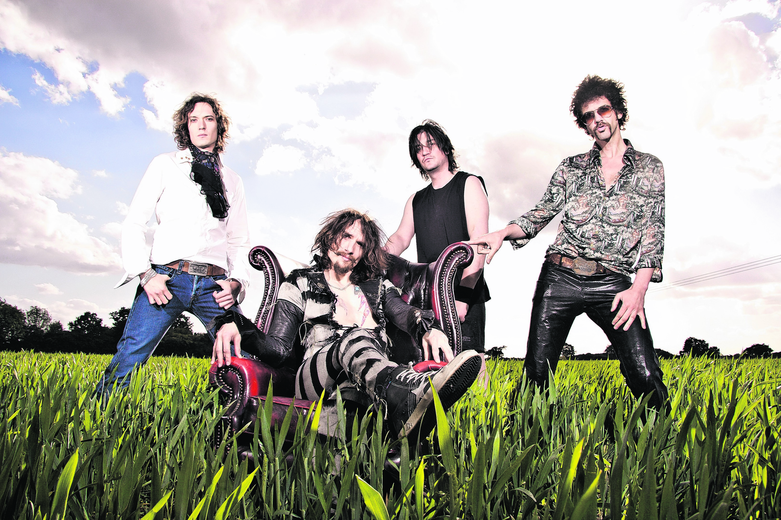 The Darkness headline the Thursday night at this year's Belladrum Tartan Heart Festival. PHOTO:  Marianne Harris