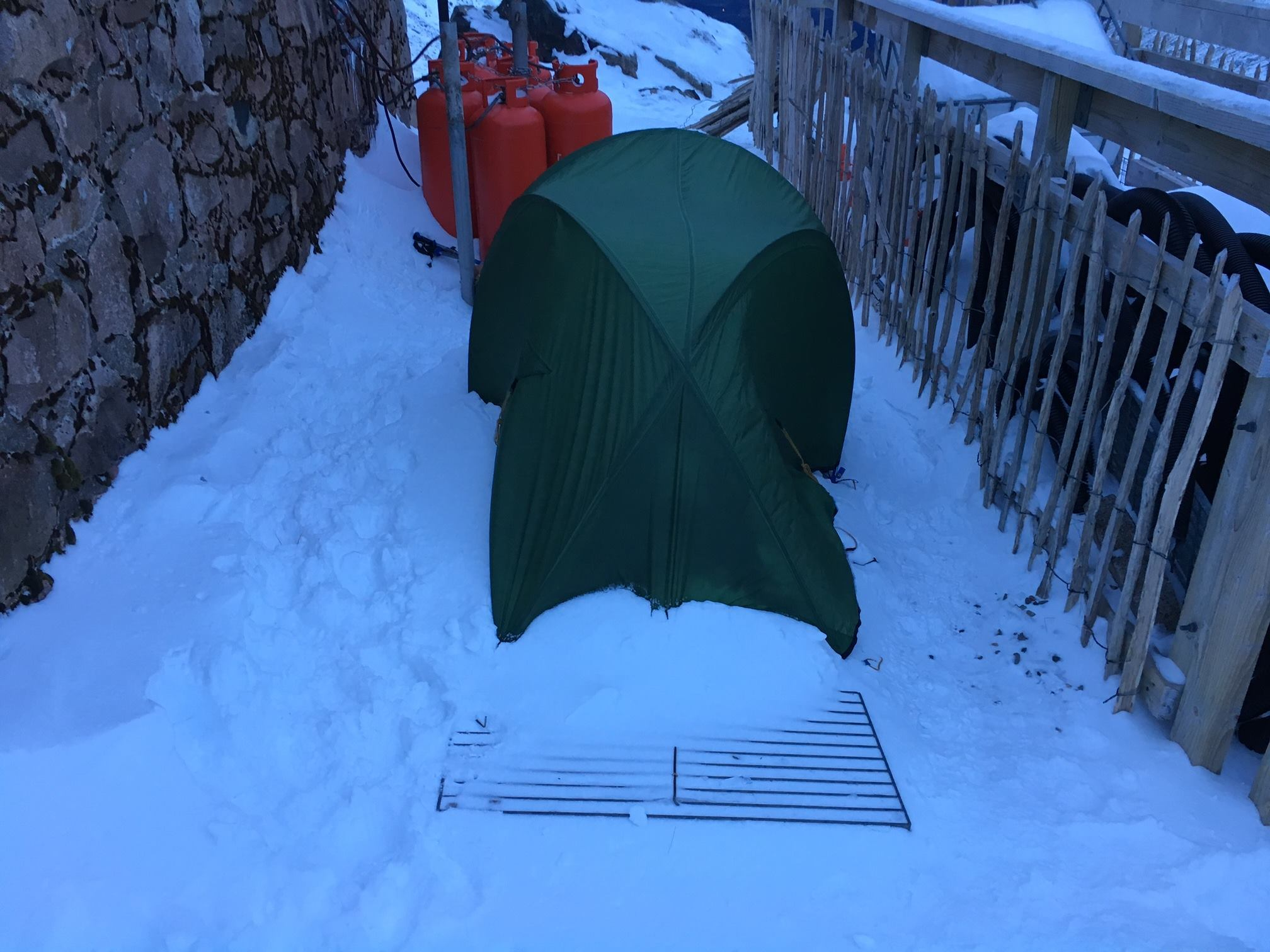 The couple's tent was found on Ben Nevis