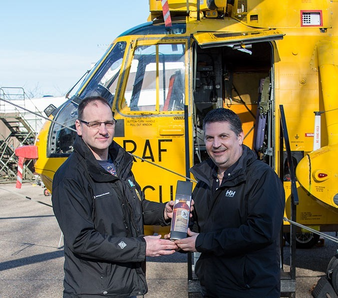 Gary Anderson visits the Moray Sea King