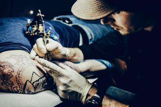 Aberdeen tattoo artist James Deveron