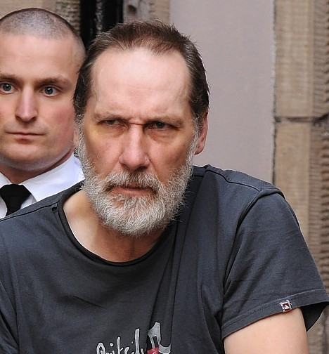 Andrew Hammond at a court appearance in Dingwall