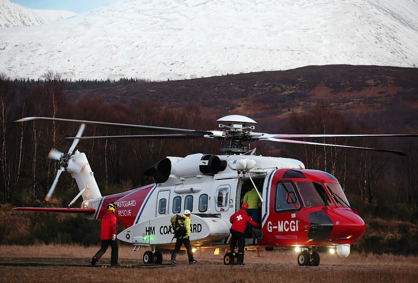 Mountain rescue volunteers are on call 365 days a year