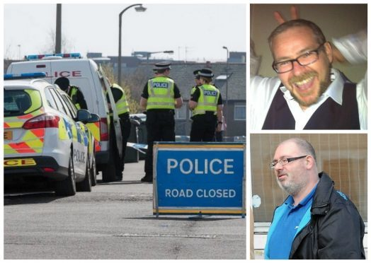 James and Peter Stewart were attacked in Edinburgh