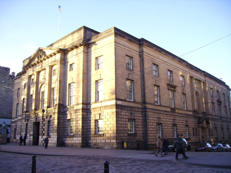 The Court of Criminal Appeal in Edinburgh.