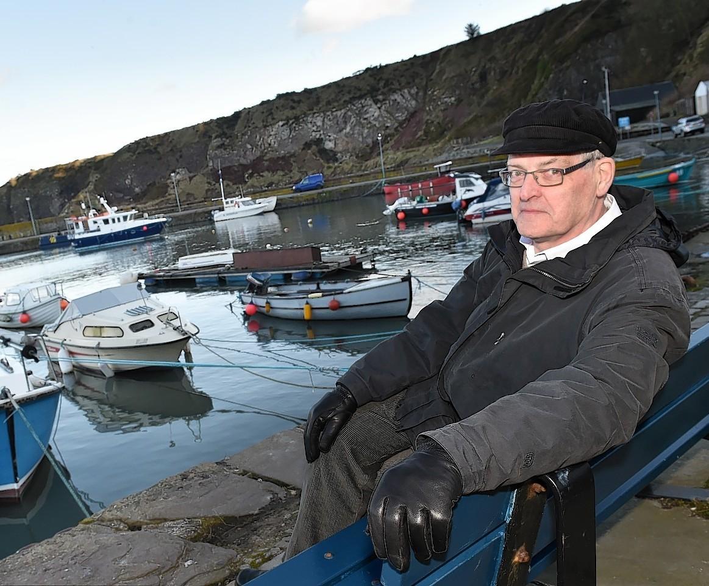 David Fleming at Stonehaven Harbour