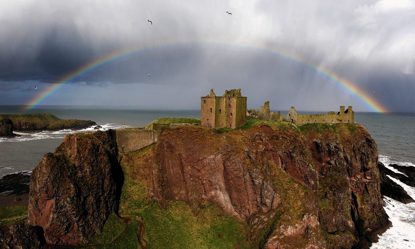 Dunnottar Castle. Picture by Kenny Elrick.