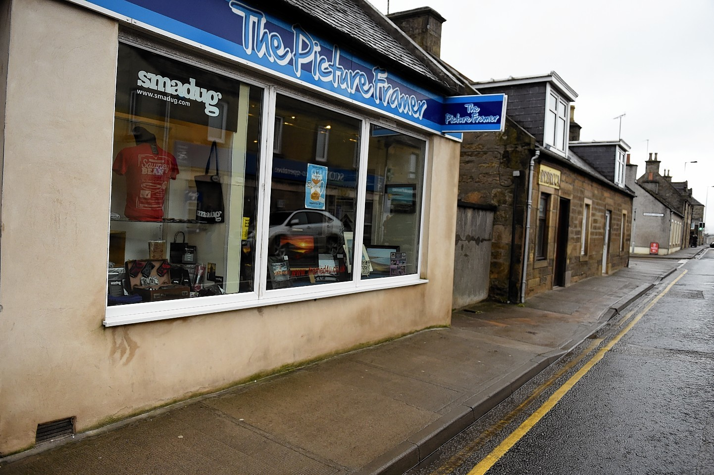 The Picture Framer shop in North Street, Elgin