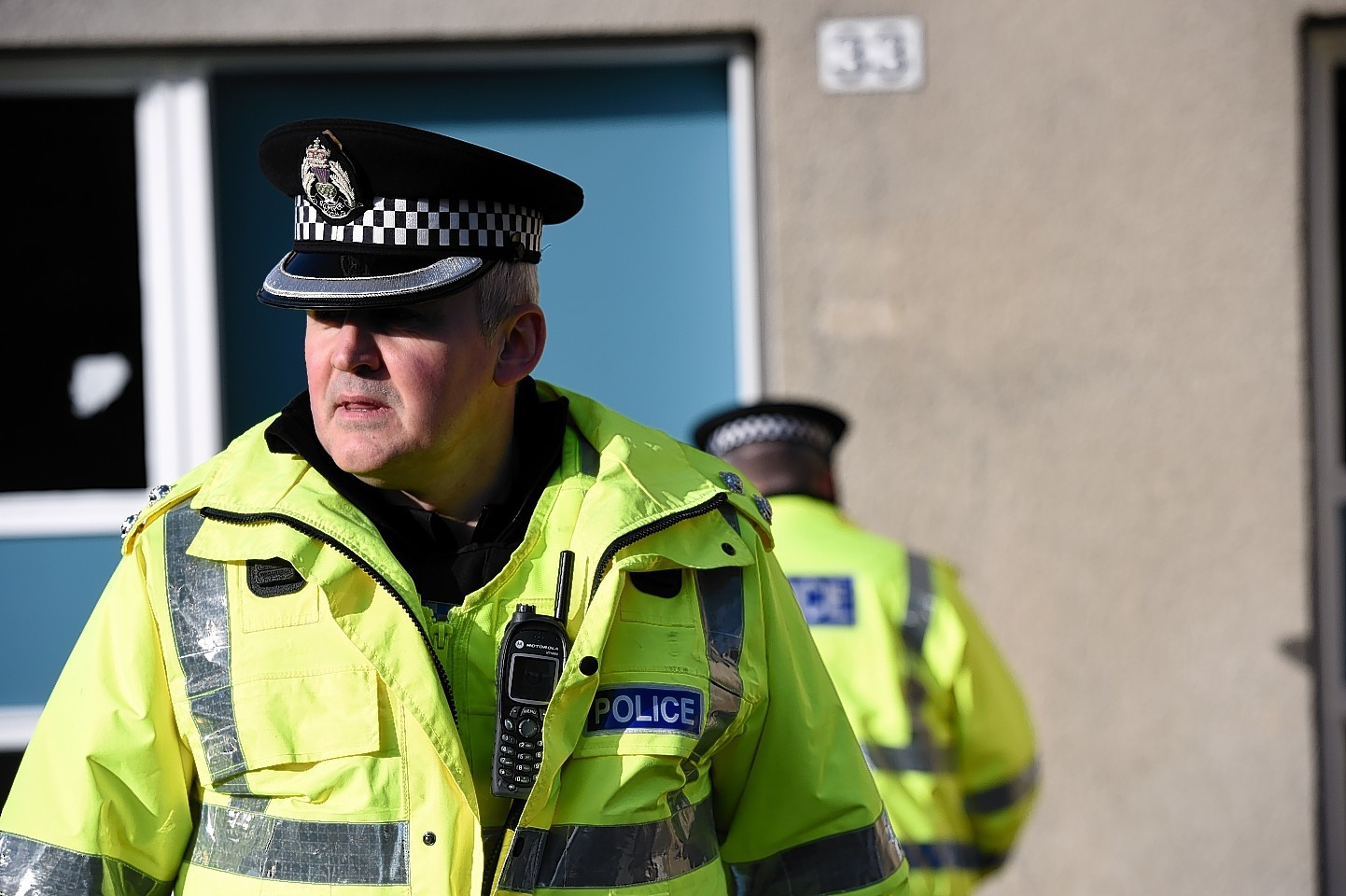 Police carried out drug raids in Elgin and Buckie