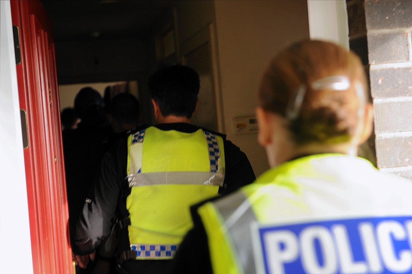 Police Scotland carried out a series of drug raids on properties in recent months