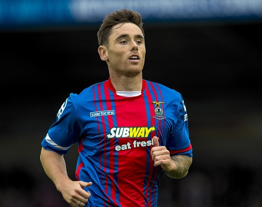 Greg Tansey looks set to leave Caley Thistle at the end of the season.