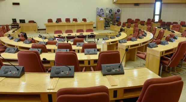 Highland Council chamber at  Glenurqhuart Road HQ
