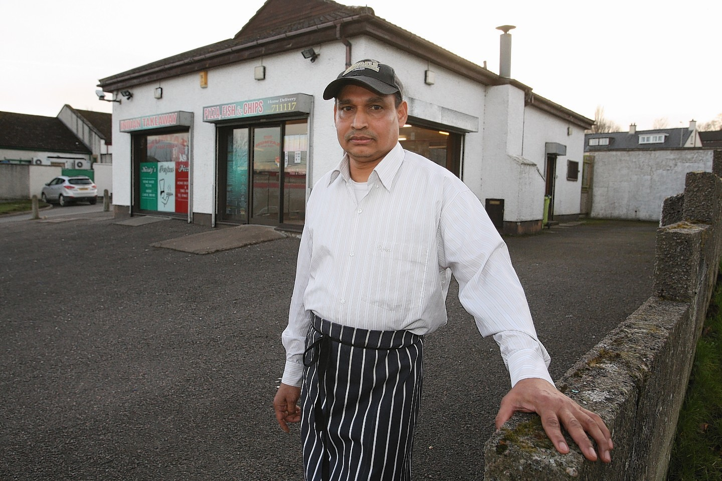 Syead Bhuiyan, who owns the Mumtaz take-away in Kinmylies,