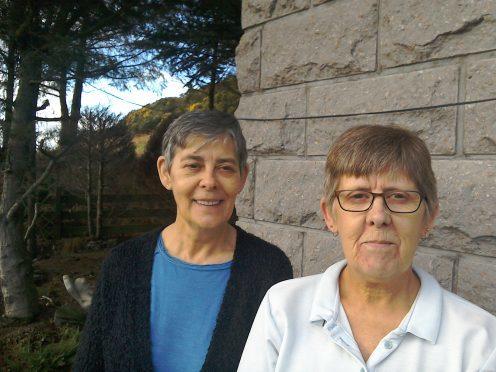 Irene  and Trisha