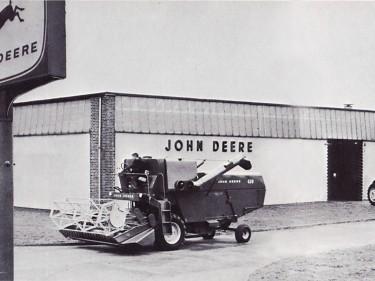 John Deere's headquarters at Langar, Nottinghamshire, in 1966.