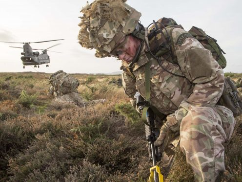 (Highland) Reserve Squadron, RAF Regiment on Exercise at RAF Lossiemouth and Fort George