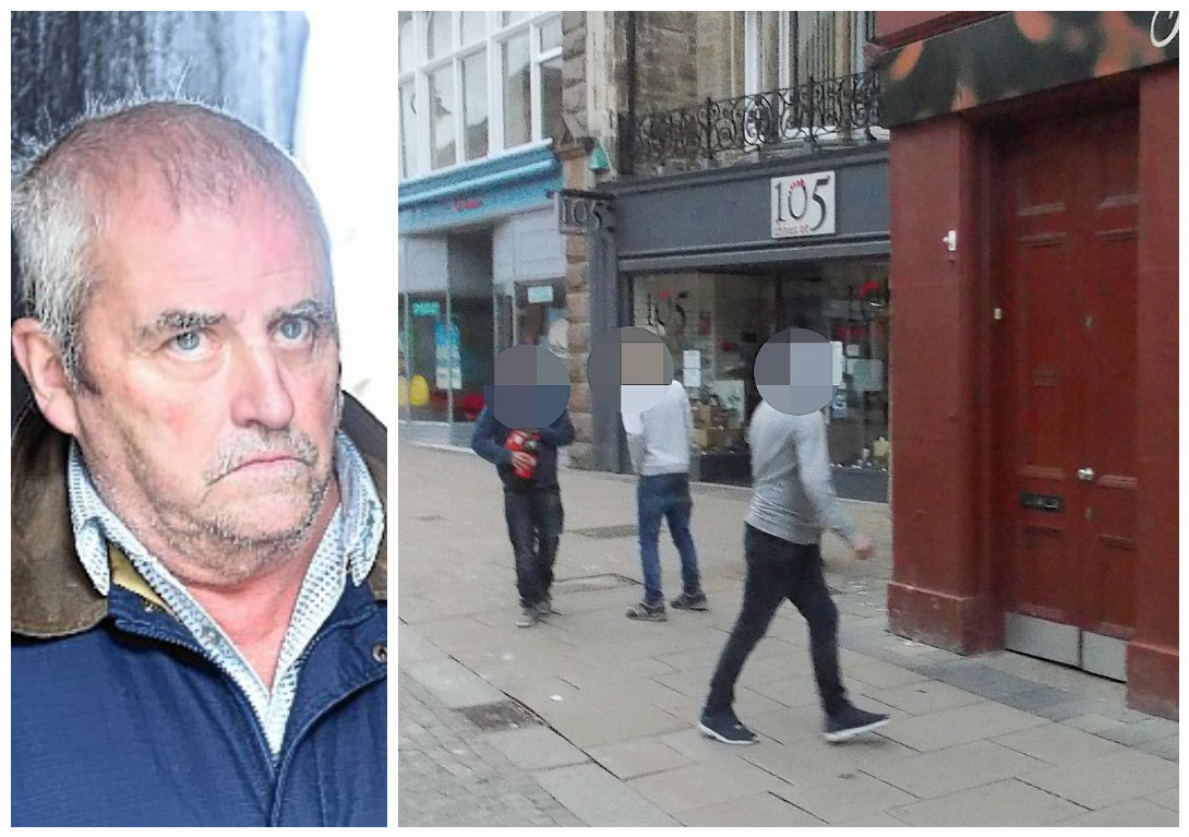 Tam Rigley was beaten up by the youths