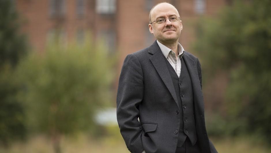 Scottish Green Party co-convener Patrick Harvie