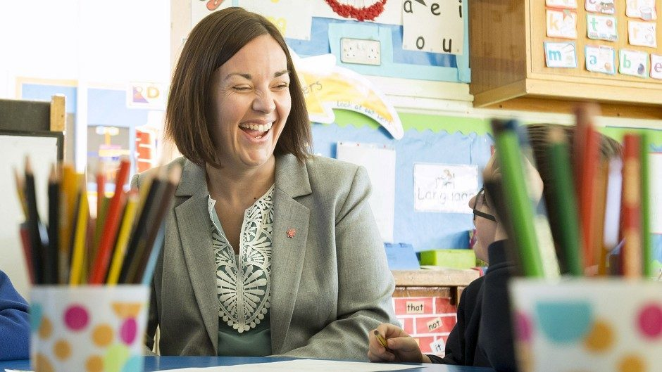 Kezia Dugdale and Scottish Labour are in danger of being beaten into third place by the Tories, according to a poll