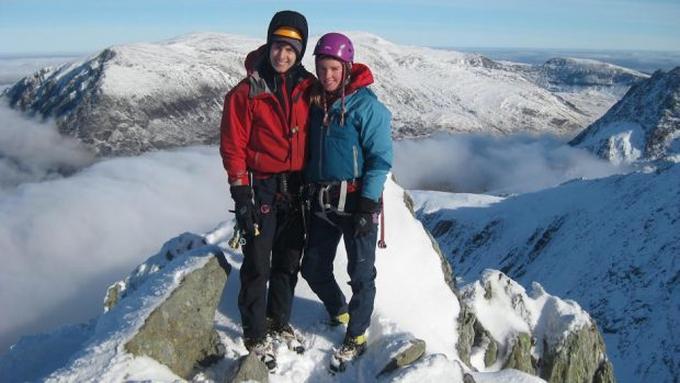 Tim Newton and Rachel Slater who were missing on Ben Nevis for more than five weeks