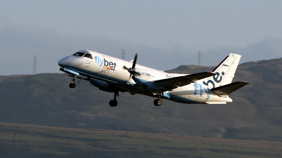 A total of 13 jobs will be lost as a result of Flybe's withdrawal from the Shetland routes